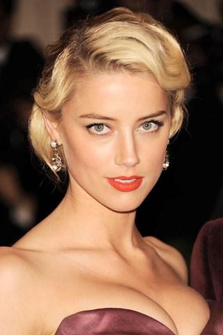 Amber Heard Coral Lips