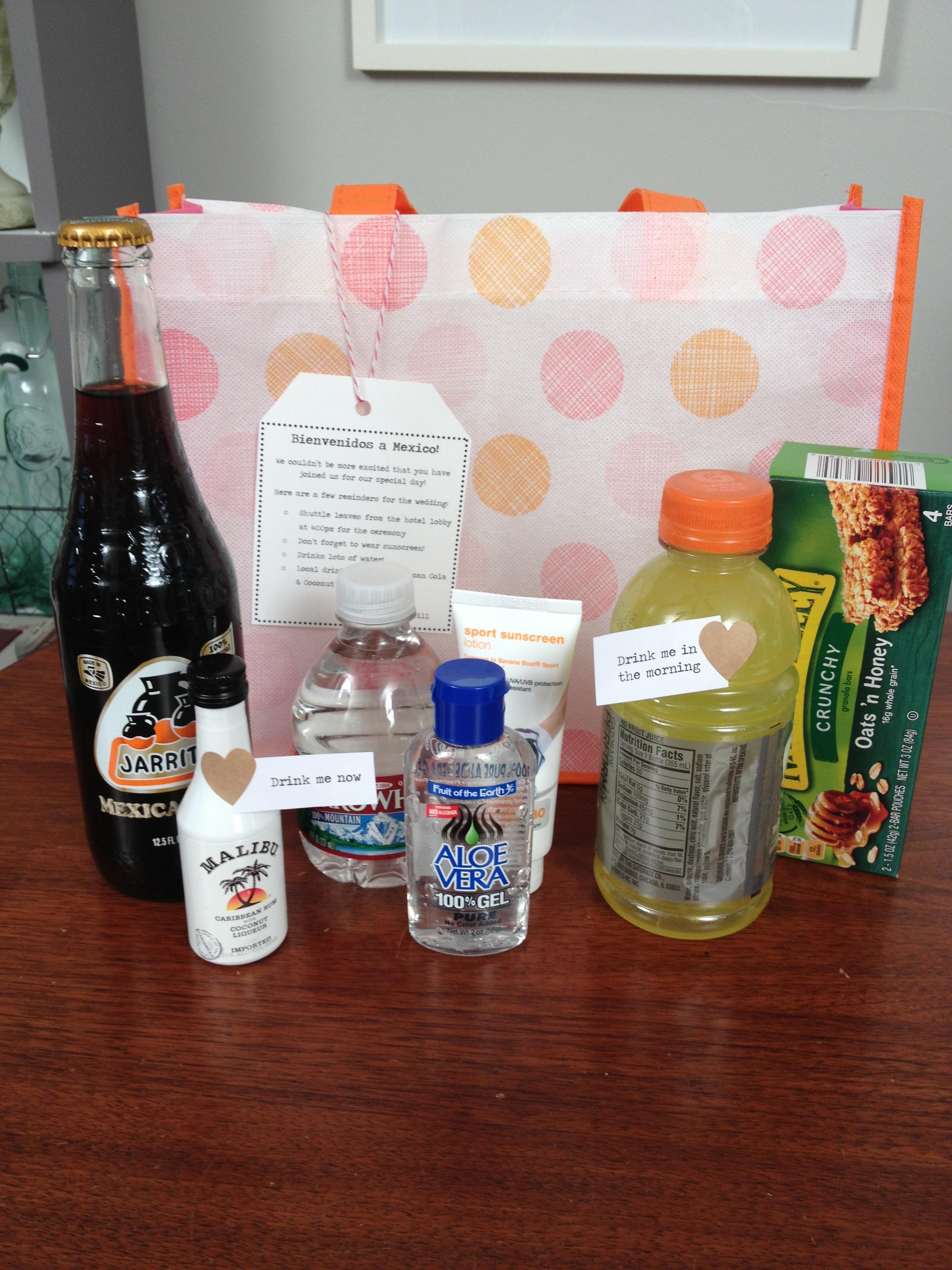 Diy Destination Wedding Gift Bags : Wedding DIY: Welcome Bags Likehearted