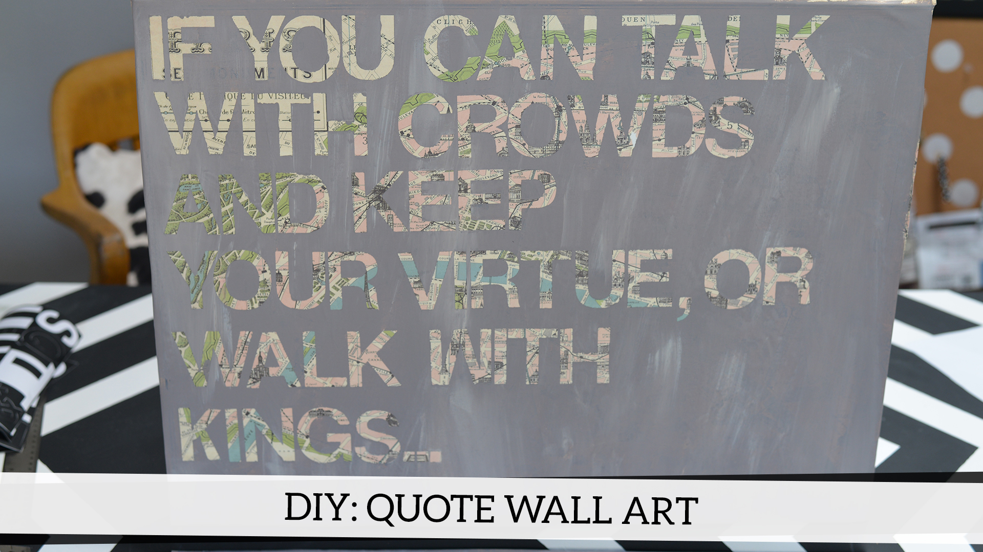 Diy Quote Wall Art Likehearted